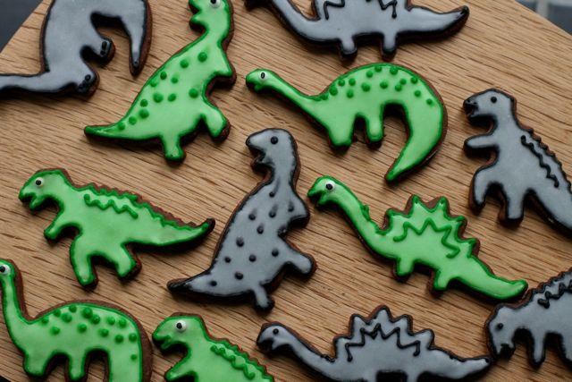 Dinosaur-cookies - 1