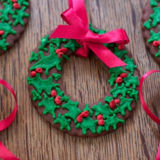 Christmas tree cookies sugarcraft project