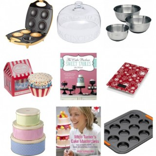 baking christmas gifts collage