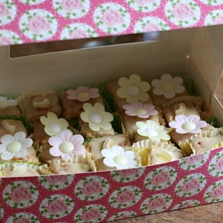 Cheats' French Fancies (BabyCentre)