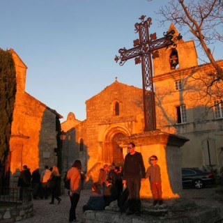 France on Fridays #3: Sunset in Les Baux