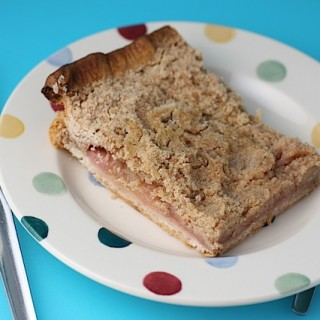 Apple & Rhubarb Crumble Slice (Whitworths)