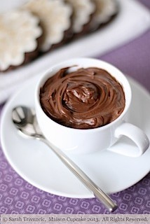 Egg free quark chocolate mousse recipe