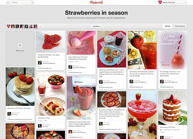 Strawberry-board