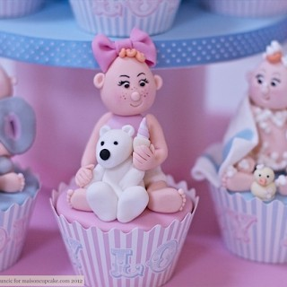 The most amazing baby shower cupcakes EVER
