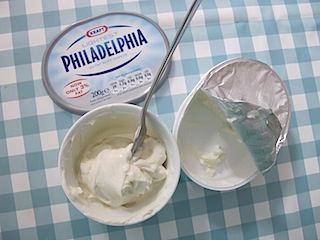 Philadelphia cream cheese cupcake frosting