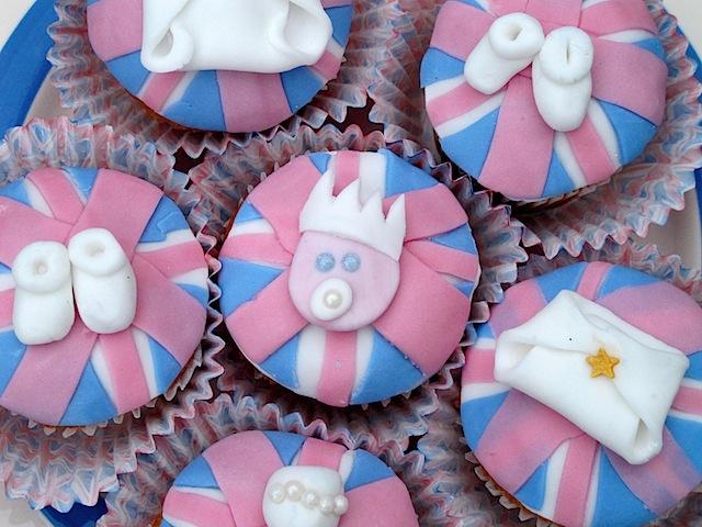 Royal Baby Cupcakes - 01