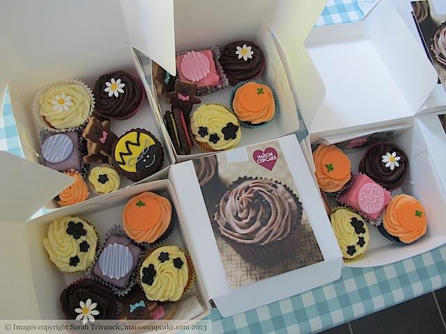 Cupcake Selection Boxes by Sarah Trivuncic Maison Cupcake - 11