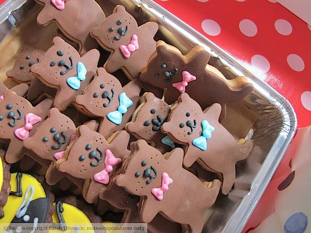 Teddy Bear Cookies by Sarah Trivuncic Maison Cupcake - 05