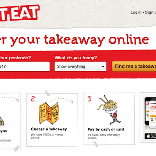 Just look, just order, just wait, JUST EAT