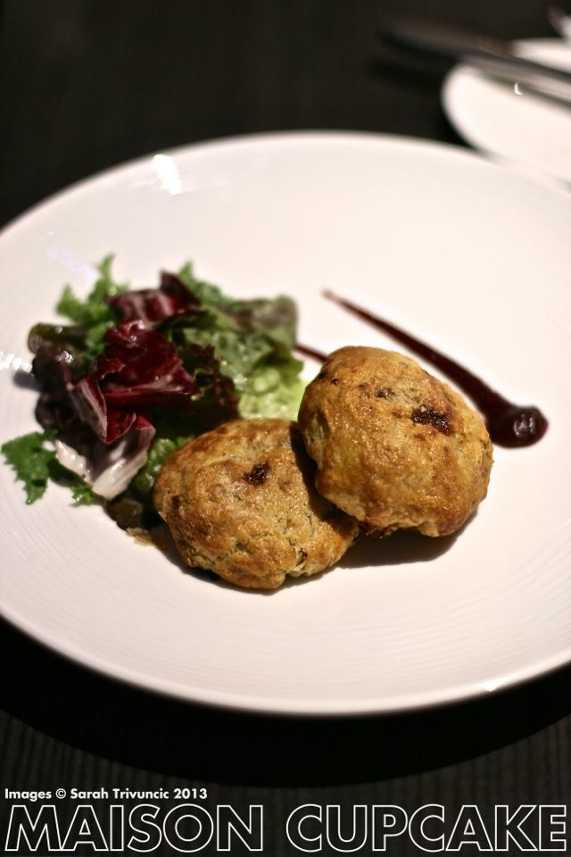 Brigade Restaurant Review #London cheese eccles cakes with colston bassett