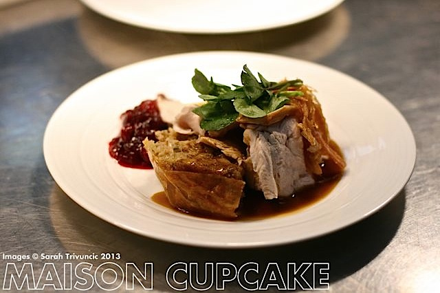 Marco Pierre White stuffs his turkey | MaisonCupcake.com See how chef Marco Pierre White prep his roast turkey at MaisonCupcake.com #thanksgiving #christmas