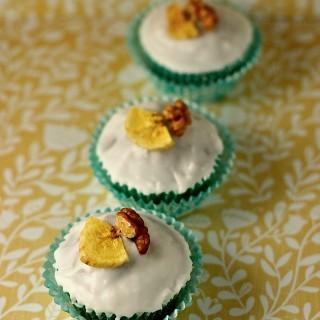 Banana and Walnut Cupcakes