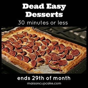 Dead Easy Desserts #2 linky with November round up