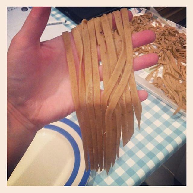 Mushroom Tagliatelle homemade pasta - 09.jpg