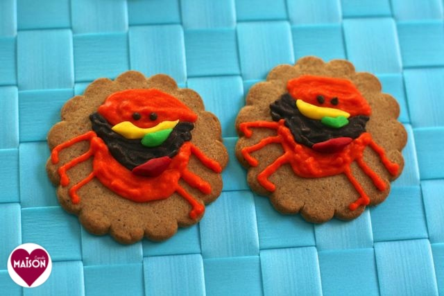 Character Cookies: Cloudy with chance of Meatballs 2 #sugarcraft #craft #kids