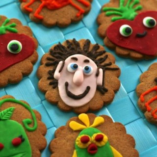 Character cookies: Cloudy with a chance of Meatballs 2