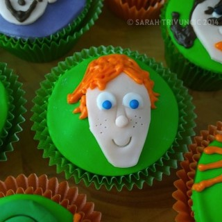 Character Cupcakes (Justin & the Knights of Valour movie)