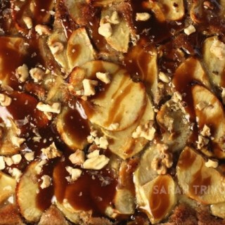 Toffee Apple Tart with Walnut Pastry (Russell Hobbs)