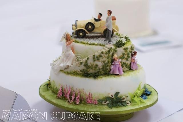 Sugarcraft Showcase: Miniature cakes at Squires Kitchen Exhibitition