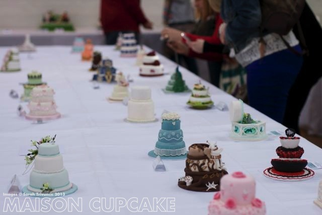Sugarcraft Showcase: Miniature cakes at Squires Kitchen Exhibitition