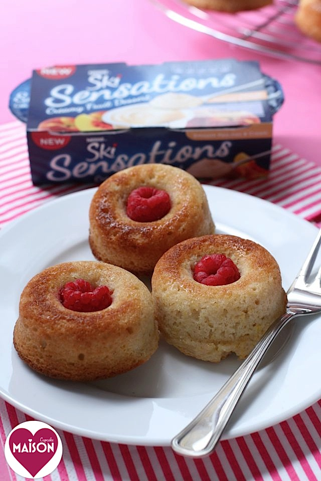Berry Baked Doughnuts, easy bake made with Ski Sensations #dessert #ad