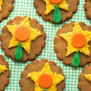 Spring daffodil cookies