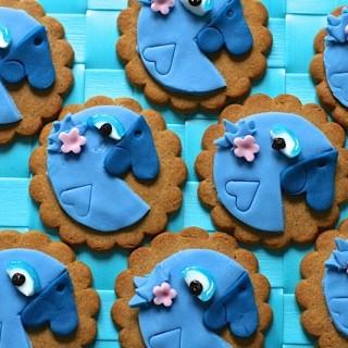 Rio 2 Blue Parrot Cookies
