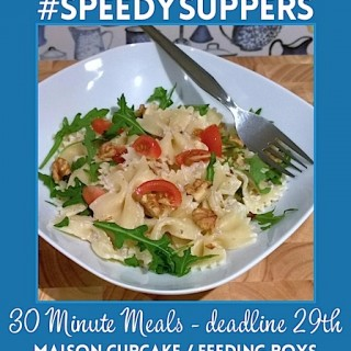 Speedy Suppers #3 and a round up