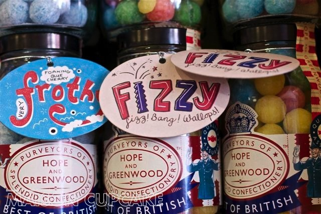 Hope and Greenwood vintage retro sweet shop London
