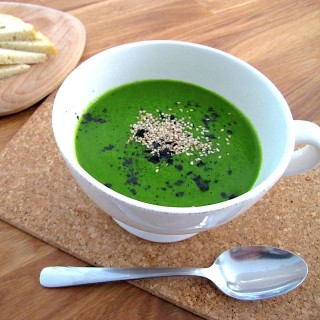 Raw Cavolo Nero Soup (Vitamix)