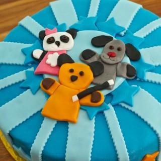 Sooty Birthday Cake (and Sweep and Soo too)
