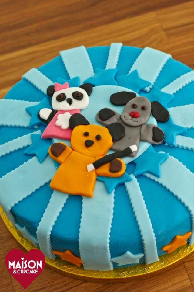 Sooty Birthday Cake And Sweep And Soo Too Maison Cupcake