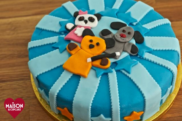 Sooty Birthday Cake Sooty TV show character at MaisonCupcake.com