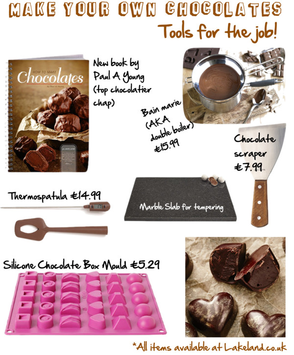 Make your own chocolates - tools for the job!