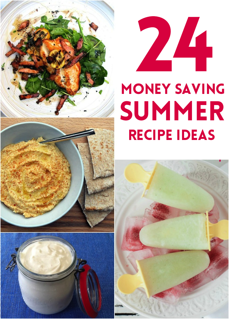 24 thrify summer recipe ideas