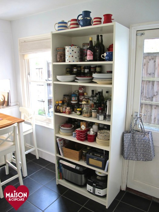 Lovely After With Stenstorp IKEA Kitchen Island And BILLY Bookcase: A ...