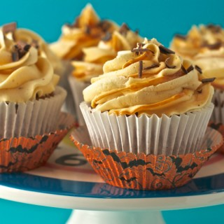 Sweet Potato Cupcakes With Salt Caramel Icing (Asda)
