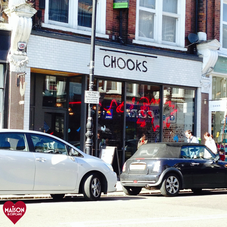 Chooks chicken restaurant Muswell Hill Broadway