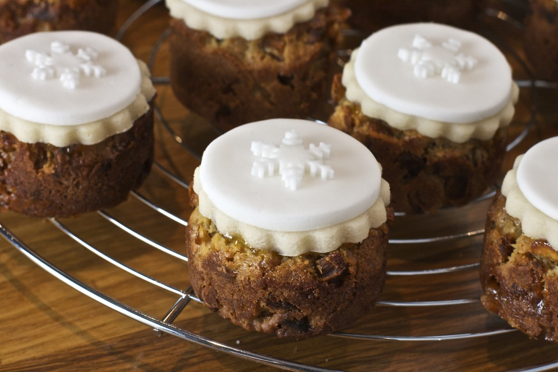 Mini Christmas Cake Ideas