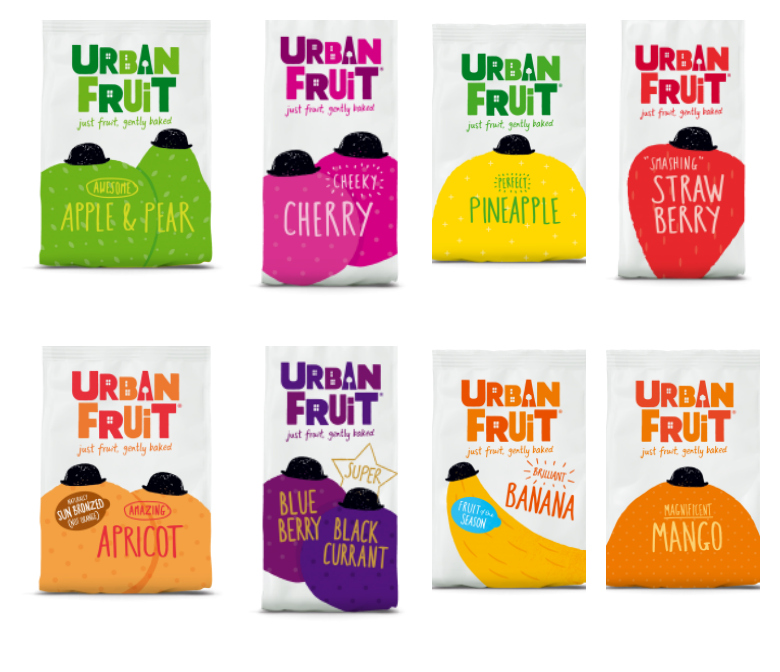 Urbanfruit collage