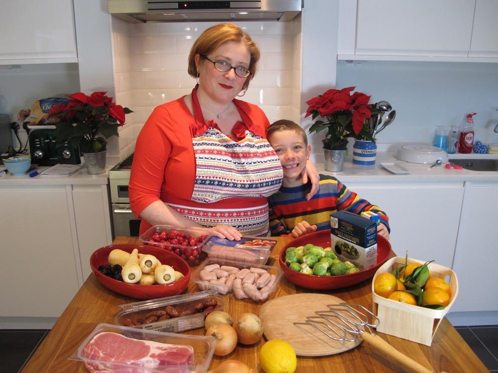 Preparing Christmas turkey and perfect bread sauce