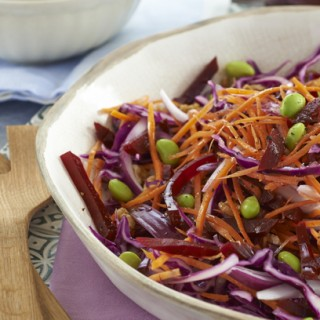 Beetroot and Soy Bean Salad (Haywards)