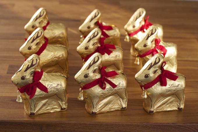Lindt Christmas reindeer