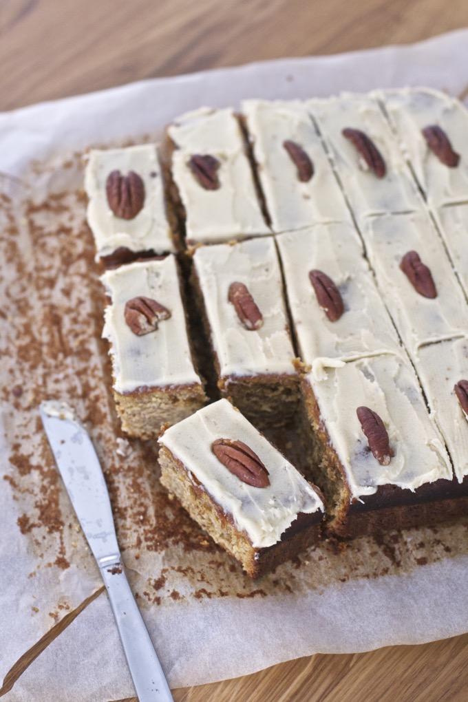 easy pumpkin yogurt cake with spelt flour recipe - 3