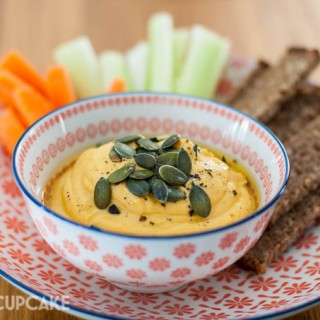 Cannellini bean dip with butternut squash recipe