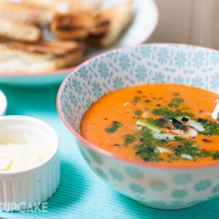 Roast tomato and pepper soup (Aldi)