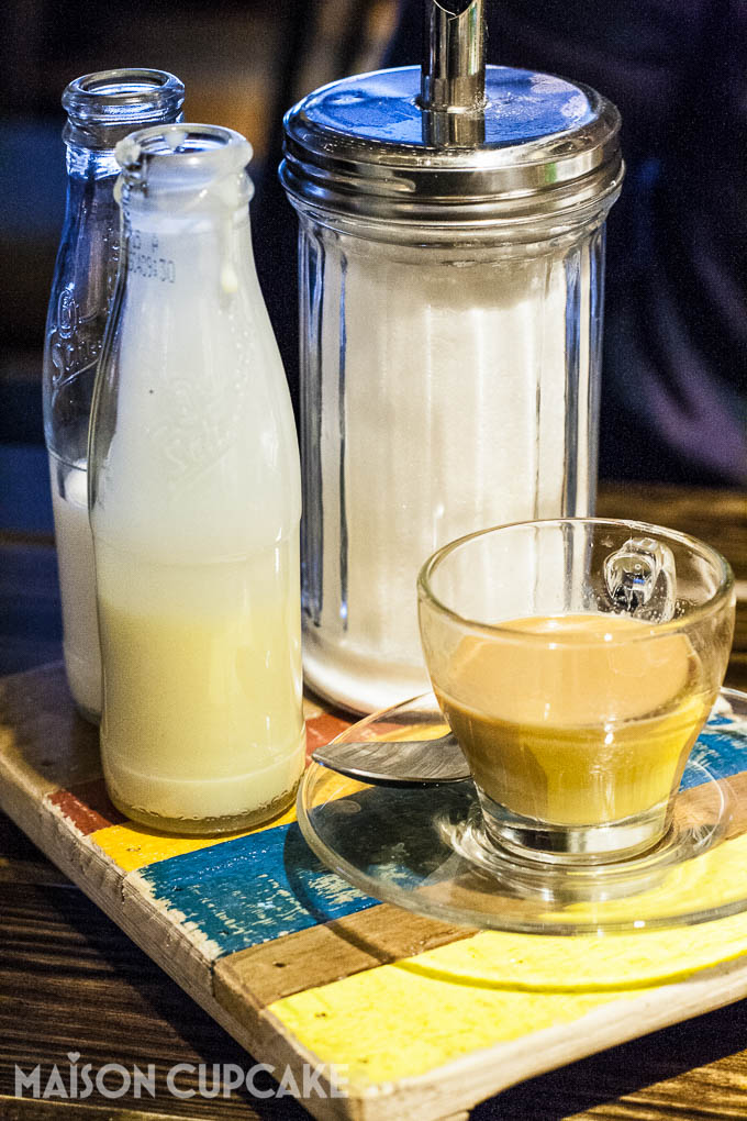 Turtle Bay Walthamstow Caribbean Coffee with condensed milk