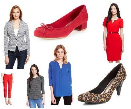 M&S ladies spring fashion