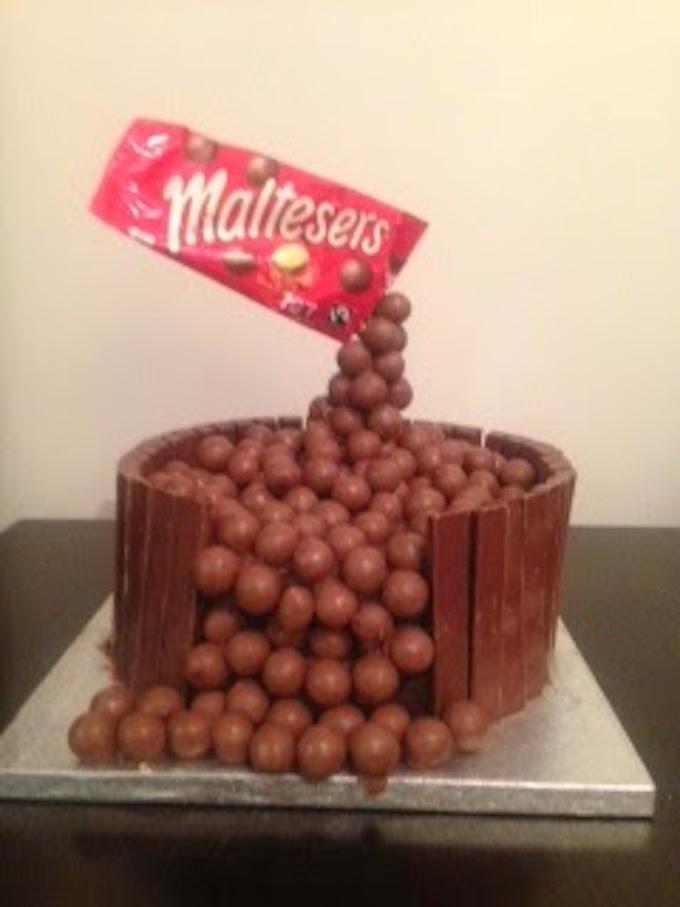 Maltesers And M M Birthday Cake